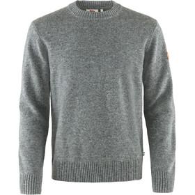 Fjällräven Övik Sweat À Col Rond Homme, grey